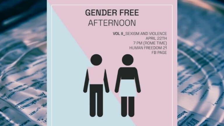 Locandina Evento Sexism and Violence