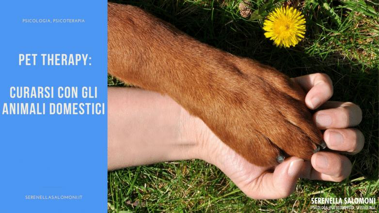 Pet Therapy: curarsi con gli animali domestici